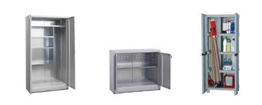 Armadio zincato per esterno for Mobiletti bassi bagno